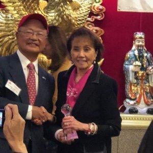 Congrats to Rajada Fleming - Texas Asian Republican Club's 2018 Volunteer of the Year!