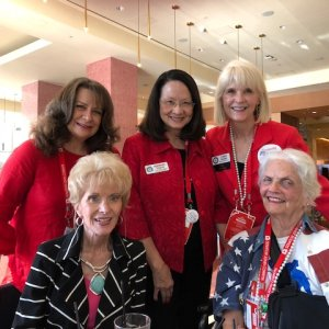 GHC Republican women at the RPT convention in San Antonio