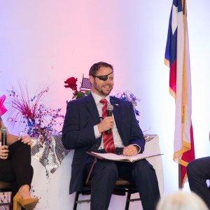 GOTV Forum: Kathleen Osborne, Congressional District 2 Candidate Dan Crenshaw and James Osborne