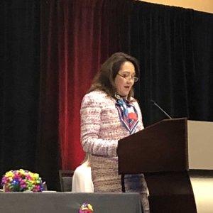TFRW Tribute to Women Luncheon 2018 - Mrs. Abbott