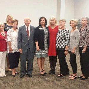 A few members at recent council meeting